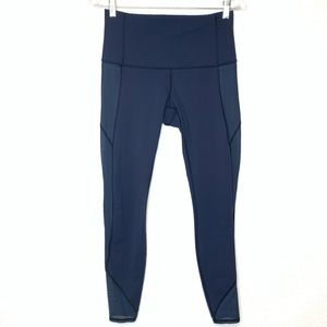 Lululemon athletica Leggings Navy Blue Size 8